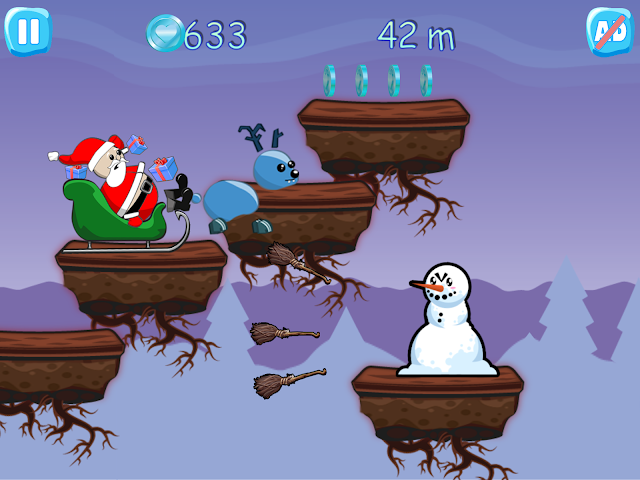 android Xmas Ride - Santa Escape Screenshot 5