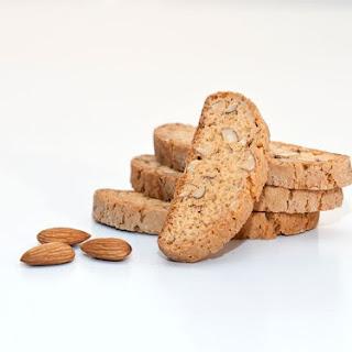 Gluten-Free Sugar-Free Almond Biscotti.