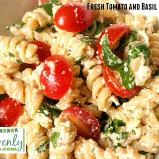 Fresh Tomato & Basil Pasta Salad Recipe