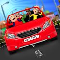Motu Patlu Car Game icon