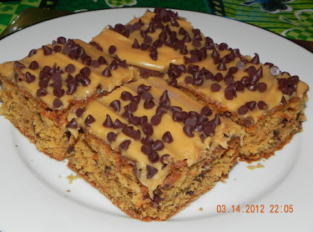 Peanut Butter Chip Cake Recipe