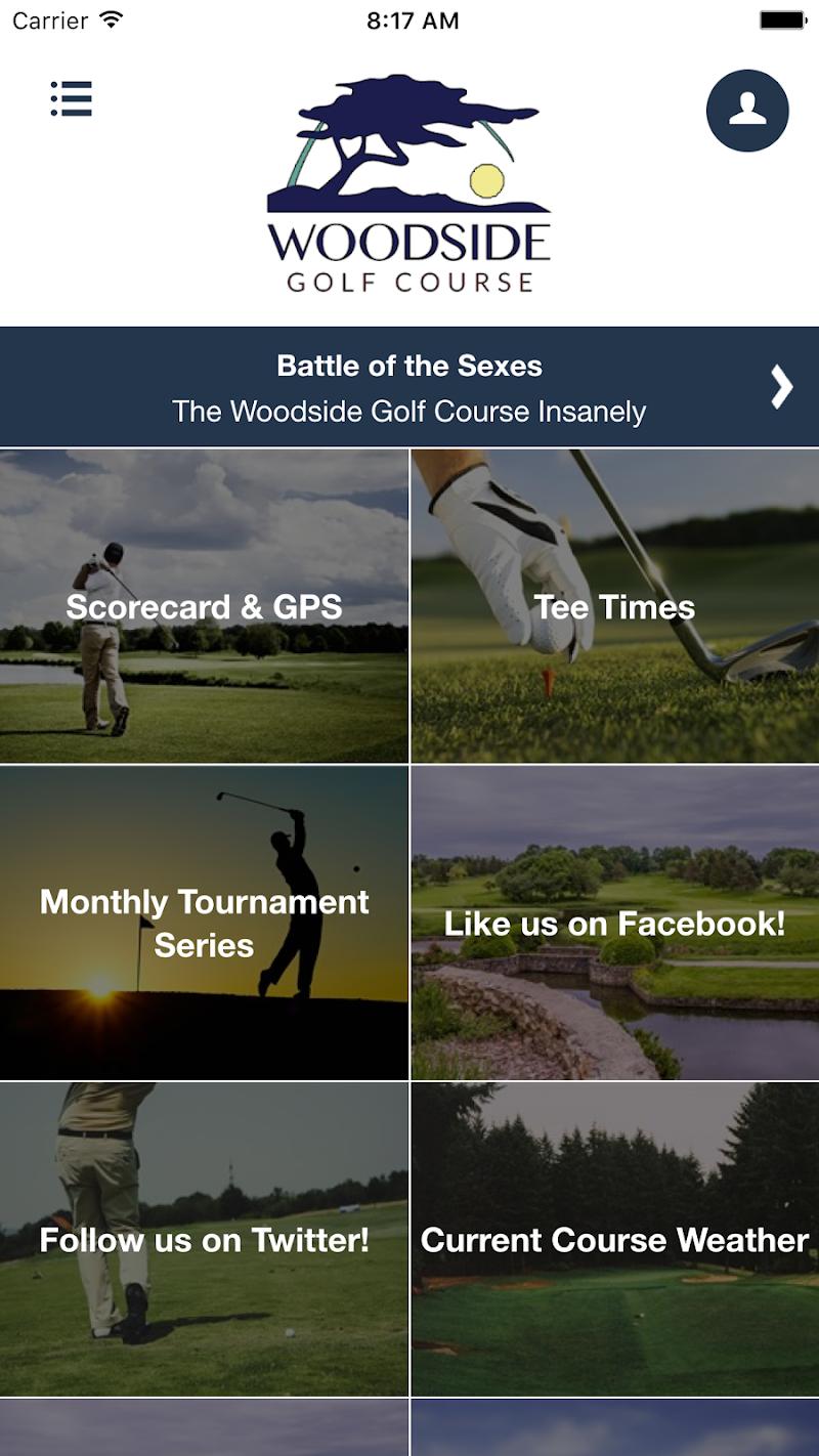Скриншот Woodside Golf Course