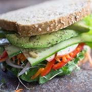 Veggie Avocado Sandwich