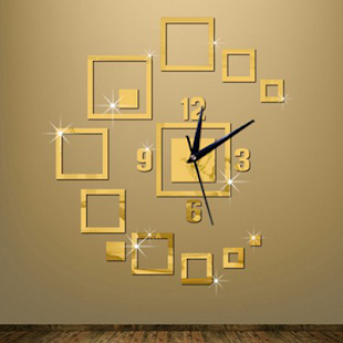 Decorative Wall Clock - náhled