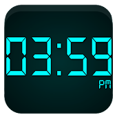 Modern Digital Clock 4 GearFit