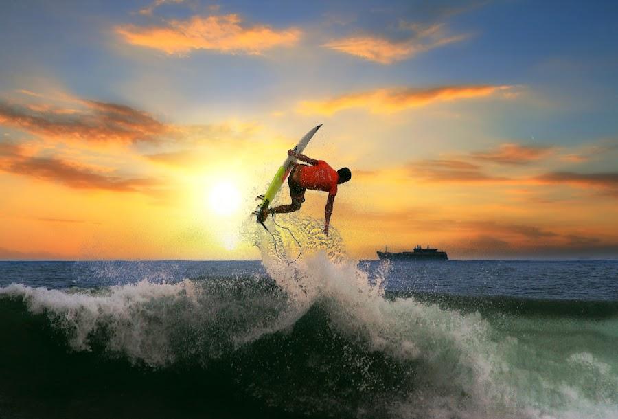 Anti Gravity by Alit  Apriyana - Sports & Fitness Surfing