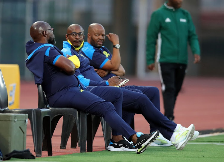 Manqoba Mnqgithi, Steve Komphela and Rulani Mokwena have steered Mamelodi Sundowns to the knockout stages of the Caf Champions League.