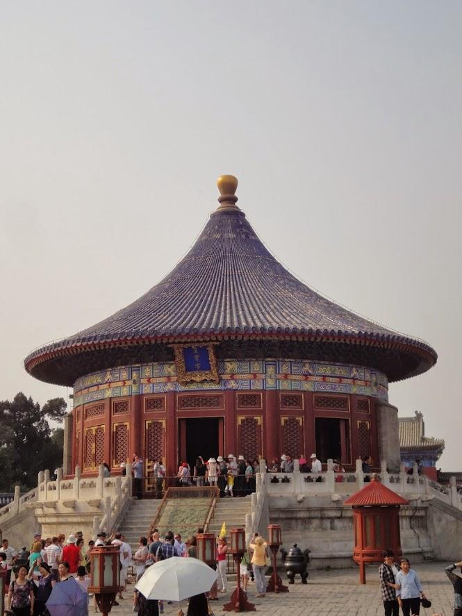 Voûte céleste impériale au Temple du Ciel à Beijing