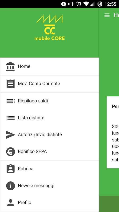 CRCento mobile CORE- screenshot