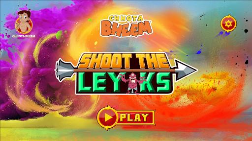 Chhota Bheem Shoot the Leyaks Game apkdebit screenshots 10