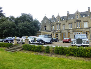 Photo: A good collection of club cars turned up