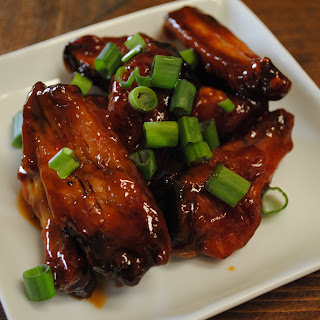 Sweet Chili Chicken Wings.