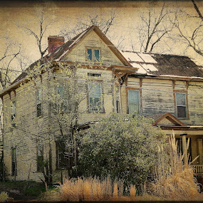 Still standing by Debra Graham - Buildings & Architecture Decaying & Abandoned ( abandoned house )