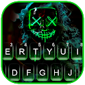 Smokey Neon Purge Mask Keyboard Theme icon