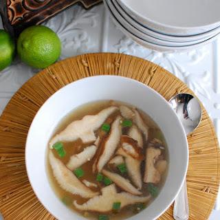 Thai Shiitake Noodle Soup