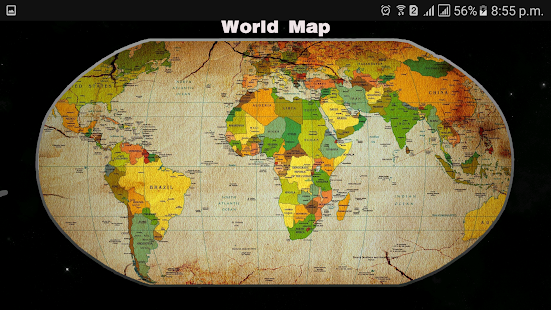 World map 2017 offline free android apps on google play world map 2017 offline free screenshot thumbnail gumiabroncs Image collections