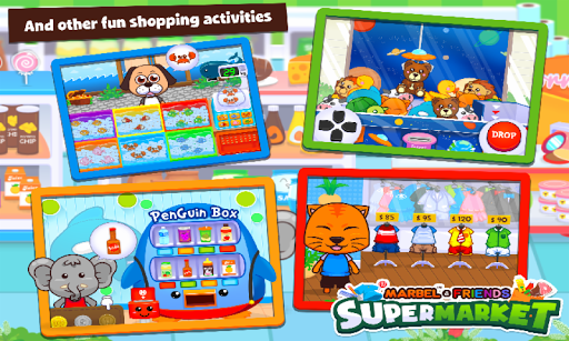 Marbel Supermarket Kids Games apktram screenshots 5