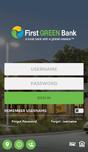 First Green Bank- screenshot thumbnail