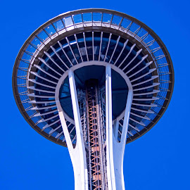 Sky needle seattle by Will McNamee - Buildings & Architecture Architectural Detail ( patty_j_ball@hotmail.com; donaldbarber11@msn.com; donaldbarber11@msn.com; d3a1@aol.com;  postholes2002@yahoo.com;,  )