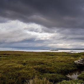 by Anabela Henriques - Landscapes Cloud Formations ( sky, nature, river )