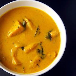 Vegan Mango Curry.