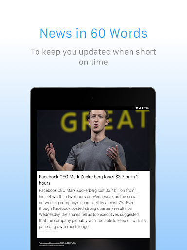 Inshorts - 60 words News summary screenshot 9