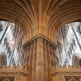 Wells Cathedral by Zsuzsanna Abonyi - Buildings & Architecture Places of Worship