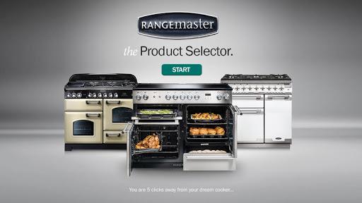 Range Cooker Selector Tablet