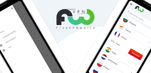 FreeVPN World  - Absolutely FREE Unlimited VPN for Android