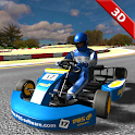 Kart racing 3D – crazy kart driving experience icon