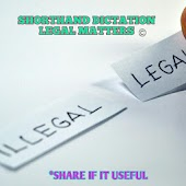 Shorthand Dictation Legal Matters