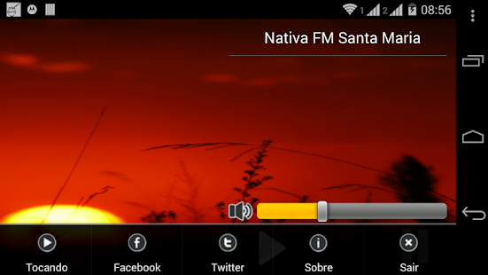 Rádio Nativa FM Santa Maria/RS - screenshot thumbnail