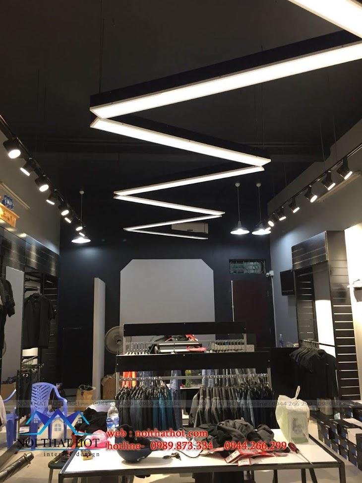 thiết kế shop thời trang adidas 8