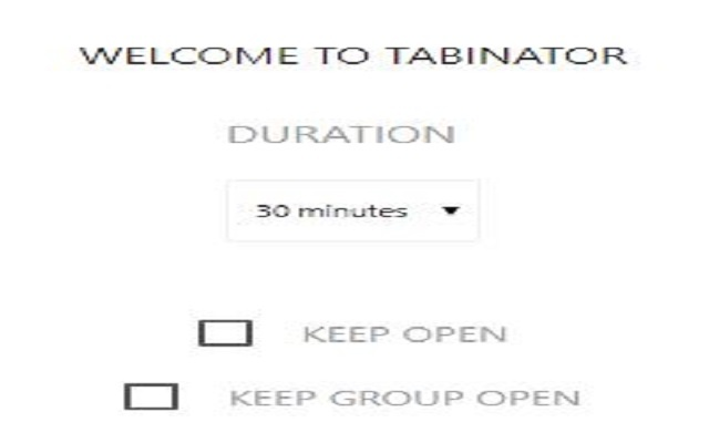 Tabinator