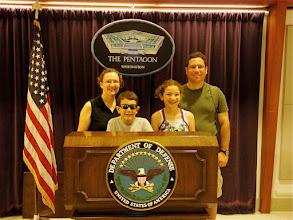 Photo: Pentagon Visit 2010