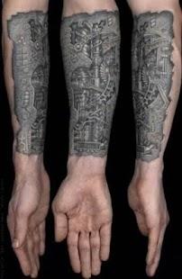 3D obrázky tetování - náhled