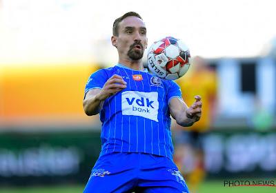 """Sven Kums zag dat het voor Gent moeizaam ging tegen Moeskroen: """"Blij zijn met die drie punten"""""""