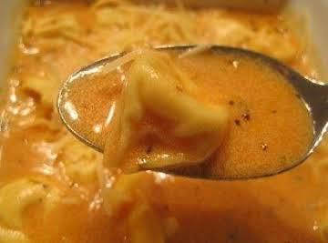 Tortallini Soup