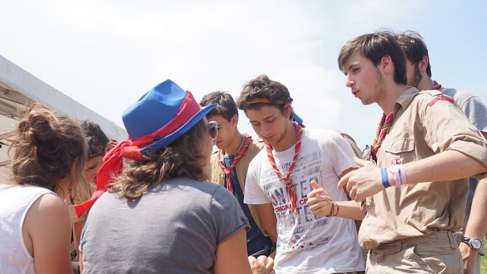 Les scouts du clan 29 de Paris Saint Sulpice aux JMJ Hors-Norme avec L'Arche