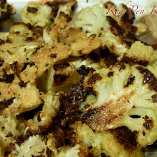 Parmesan-crusted Roasted Cauliflower