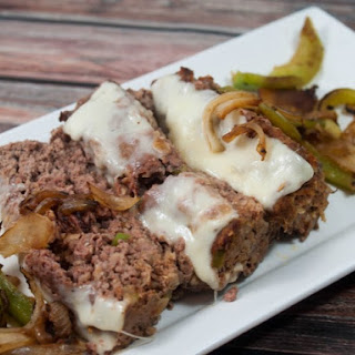 Philly Cheese Steak Meatloaf.