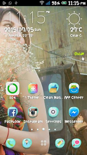 love theme-Go launcher