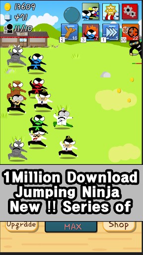 Ninja Growth - Brand new clicker game 1.8 screenshots 2