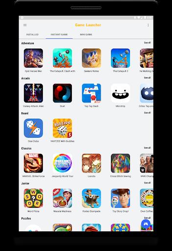 Game Launcher - 1000+ لعبة فورية ، لقطات شاشة للألعاب المصغرة 9