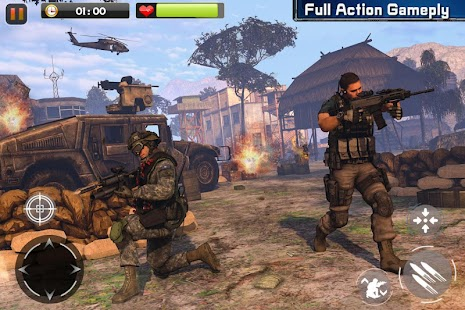 Real Commando Secret Mission - Free Shooting Games Screenshot