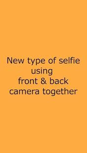 Front Back Camera - náhled