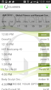 Global Fitness&Racquet Centre- screenshot thumbnail