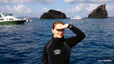 Photo: Before the first dive at Kerama Islands (Twin Rocks)