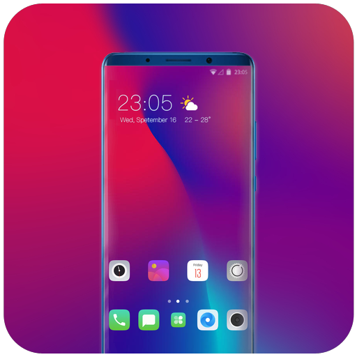 Theme for Oppo R17 Pro stock walls wallpaper icon