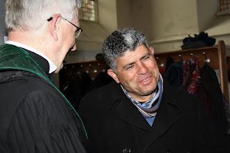 Photo: Daoud Nassar van Tent of Nations (Bethlehem), hoofdgast in deze jubileumdienst